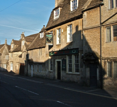 Pickwick Village, Wiltshire. Its half a mile from Corsham and where the coach drops passengers off.