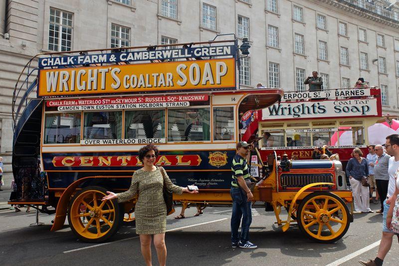 Early London bus Leyland X2 model
