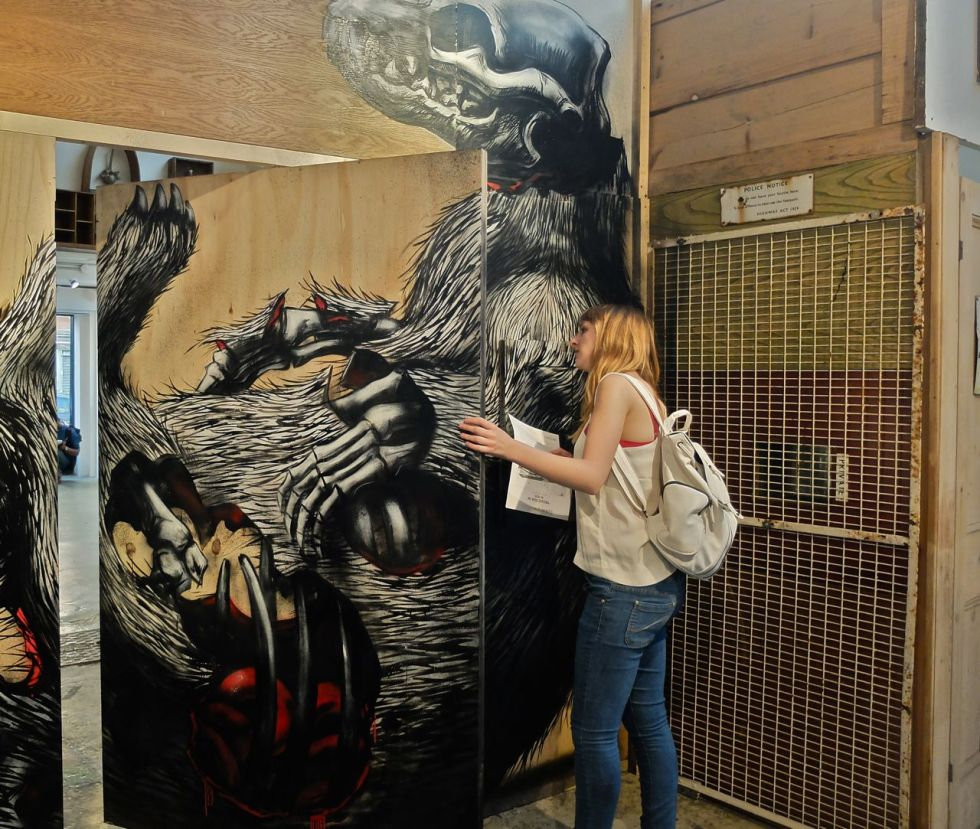'PROJECTUM 06' By ROA