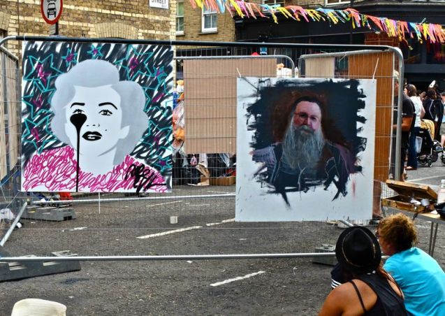 Whitecross Street Party 2015 Pure Evil Michael Sydney Moore