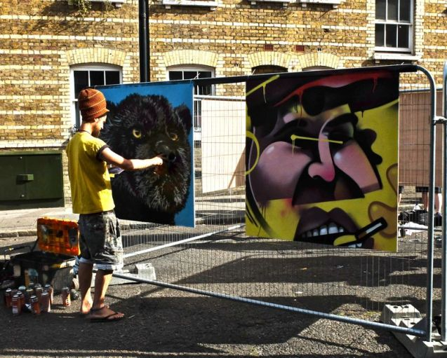 Whitecross Street Party 2015 Louis Masai Ink Fetish