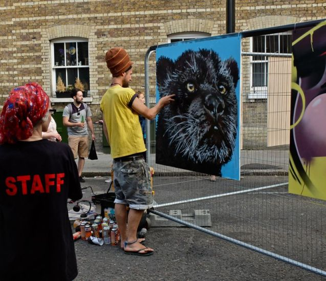 Whitecross Street Party 2015 Louis Masai