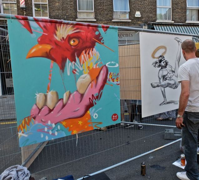 Whitecross Street Party 2015 Komo Cosmo Sarcen